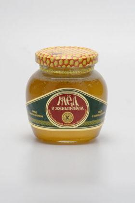Мед натуральный с компонентами